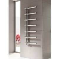 Reina Grosso Stainless Steel Radiator 850mm x 500mm Polished Dual Fuel Standard