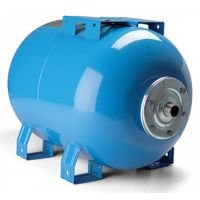 Horizontal 100ltr Cold Water Accumulator Will be supplied in Blue for Potable water version